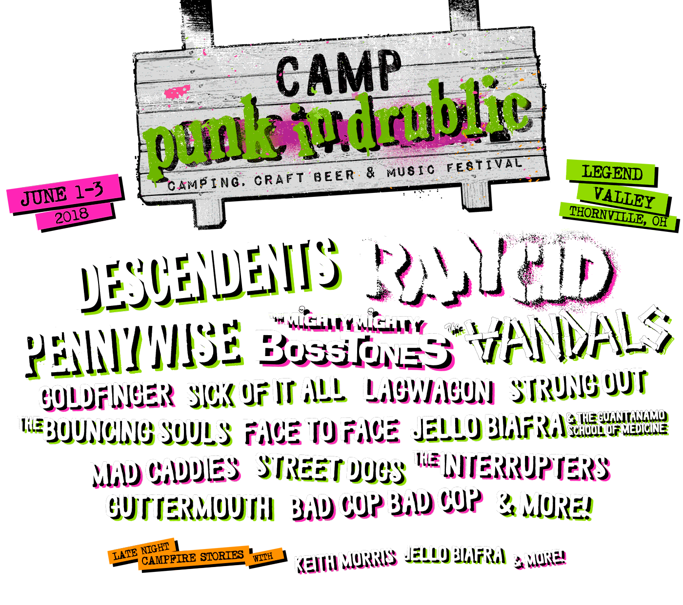 Camp Punk In Drublic Festival Replaces Nofx Me First And The Gimme