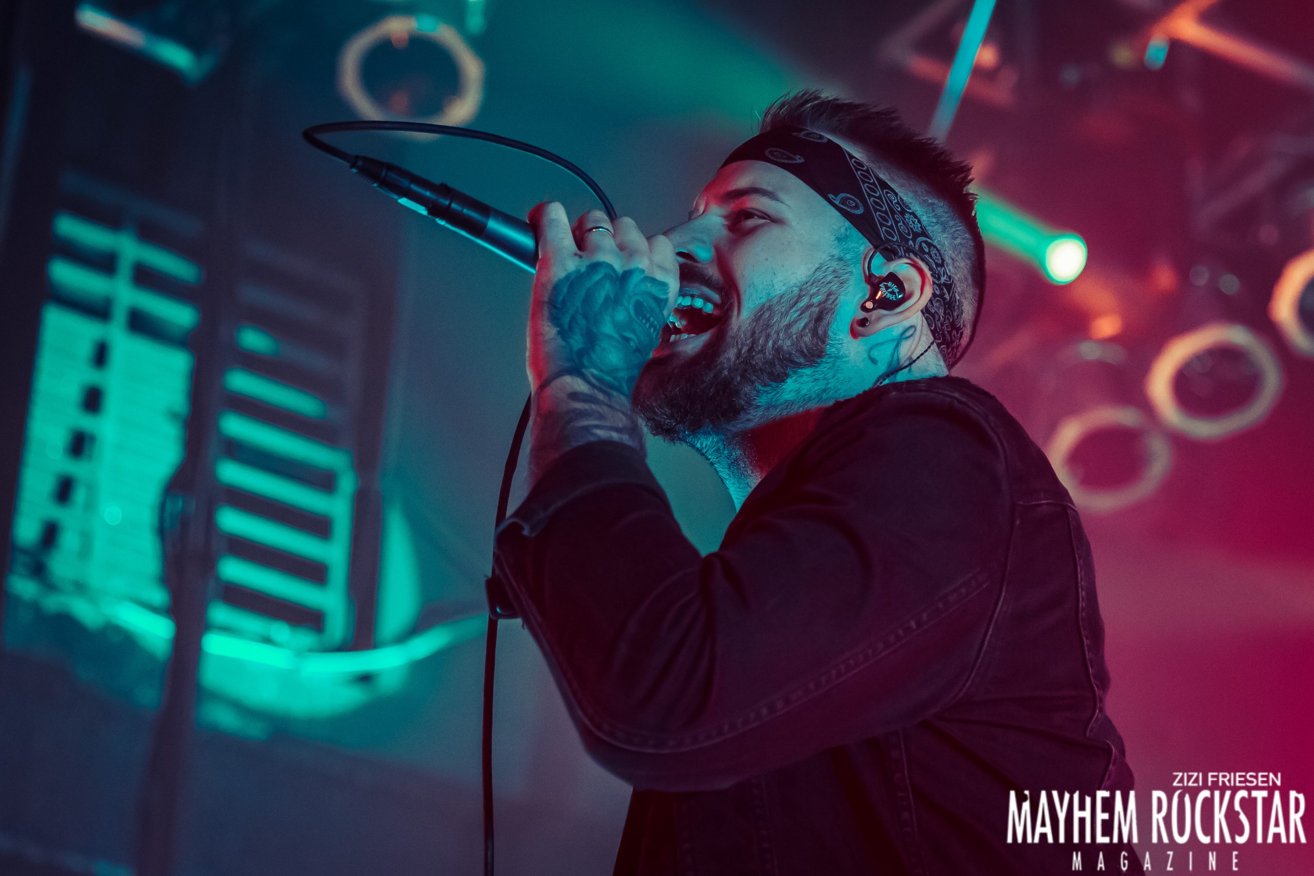 Beartooth, Motionless In White-House Of Blues-Cleveland,Ohio-01-17-2020-Photographed By Zizi Friesen