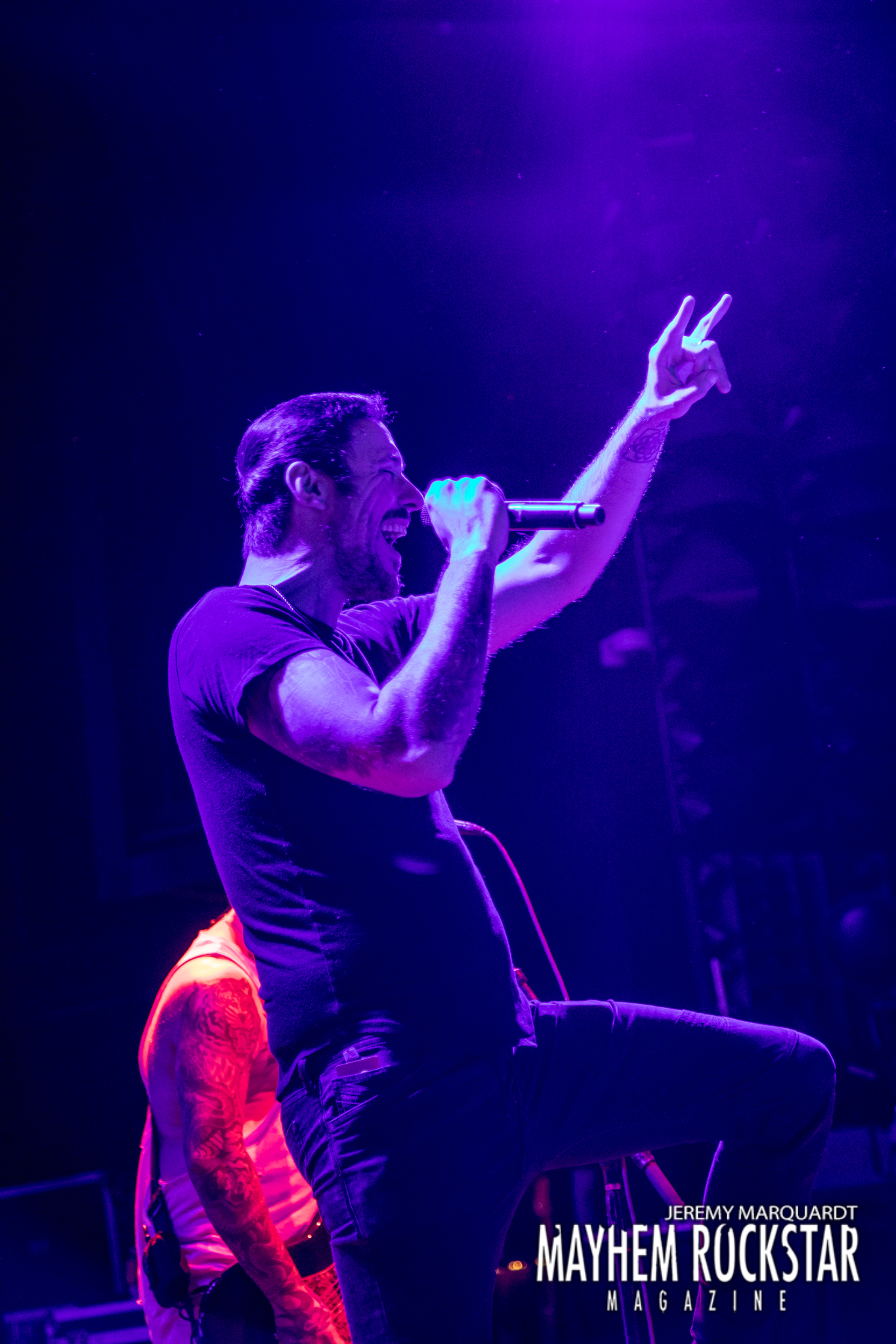 Breaking benjamin at DTE Energy Music theatre 7-24-2019 Photo: Jeremy Marquardt